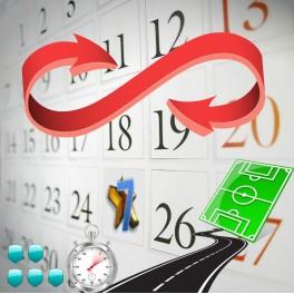 Variazioni Calendario Gold Cup 7